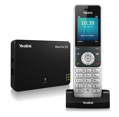 Yealink W60P - უკაბელო IP ტელეფონი, ბაზა და ყურსასმენი